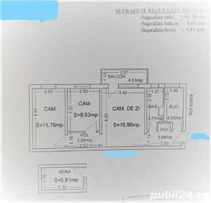 Apartament 3 camere confort 2-Tomis Nord-Brotacei - imagine 12