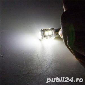 2 x becuri LED T4W W5W, pozitii, plafoniera - imagine 5