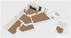 Apartament semidecomandat 3 camere zona Unirii, Marasesti, Parter - imagine 3