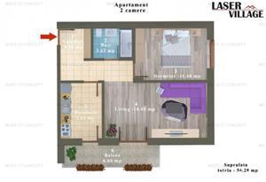 Apartament Magurele bloc NOU - imagine 4