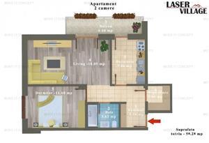 Apartament Magurele bloc NOU - imagine 11