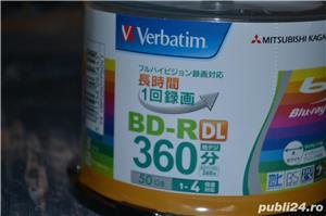 Disc Blu Ray 50 GB BD-R (DL) Verbatim 1-4x - Printabil, Made In Japan - imagine 2