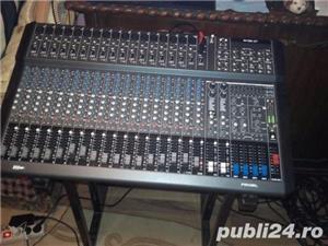 De Vanzare Mixer cu Amplificare Marca Proel M1500USB Mixer Profesional - imagine 4