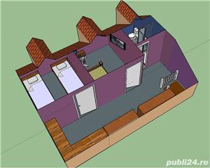 Casa pe structura de lemn - imagine 6