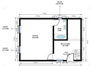 Casa pe structura de lemn - imagine 3