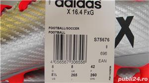 Ghete fotbal crampoane NOI Adidas X16,4 marimea 42 - imagine 6