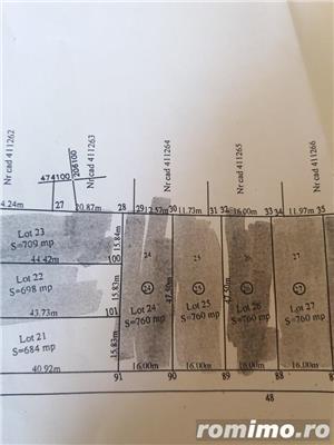 De vanzare teren , 760 mp zona de vile, 2 parcele alaturate,  in Chisoda - imagine 4