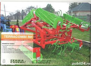 TERRACOMBI -combinator cu cadru fix si rabatabil pentru tractore de la 60CP pina 170CP - imagine 3