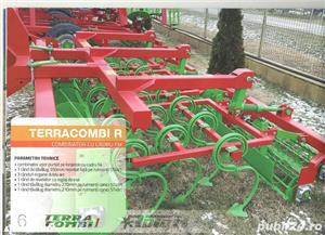 TERRACOMBI -combinator cu cadru fix si rabatabil pentru tractore de la 60CP pina 170CP - imagine 4