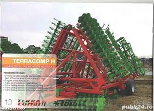 TERRACOMBI -combinator cu cadru fix si rabatabil pentru tractore de la 60CP pina 170CP - imagine 7