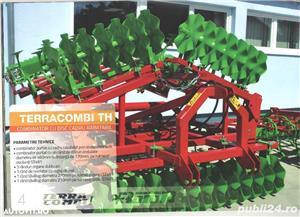 TERRACOMBI -combinator cu cadru fix si rabatabil pentru tractore de la 60CP pina 170CP - imagine 5