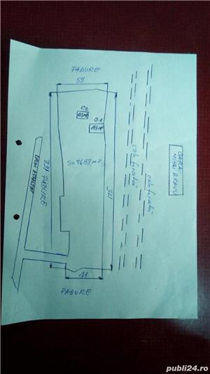 vand casa amenajabila+ teren betonat 7700 mp +hala la 30 min de Buc Comana Mihai Bravu 0744327391 - imagine 3