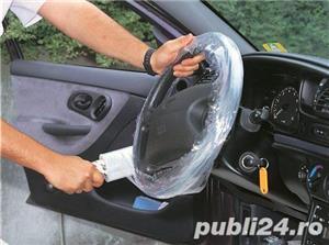 Folie stretch protectie volan + maner plastic - imagine 7