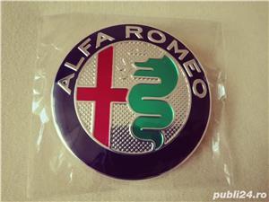 Emblema Alfa Romeo 147,156,159,166 capota/portbagaj 74mm(7,4 cm) - imagine 2