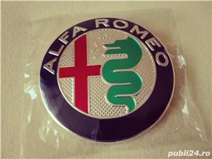 Emblema Alfa Romeo 147,156,159,166 capota/portbagaj 74mm(7,4 cm) - imagine 1