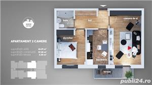 Apartament 2 camere-Grand Arena - imagine 5