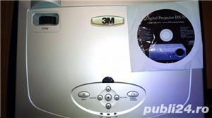 Videoproiector 3M pt sali de curs/sali de conferinte + Ecran proiectie, nou, nefolsit, garantie 1an - imagine 4