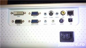 Videoproiector 3M pt sali de curs/sali de conferinte + Ecran proiectie, nou, nefolsit, garantie 1an - imagine 8