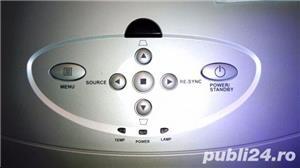 Videoproiector 3M pt sali de curs/sali de conferinte + Ecran proiectie, nou, nefolsit, garantie 1an - imagine 6