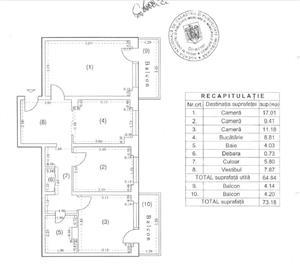Tei bulevard - bloc reabilitat - 3Cam - Conf1 dec - et2/8 - imagine 10