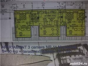 ap 3 Camere 89 mp sisesti p+1+2+3 cate un ap pe  fiecare nivel bloc nou  - imagine 1