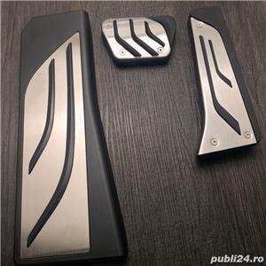 Ornamente inox pedale si footrest - BMW X5 (2006+) - imagine 5