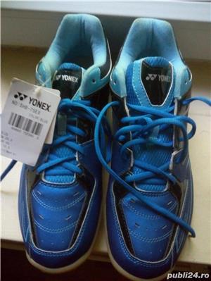 Pantofi sport barbatesti Yonex, culoare albastra,marimea 45,noi. - imagine 3