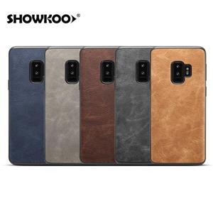 Husa Samsung S9 plus, piele, vintage, albastru, gd629 - imagine 6