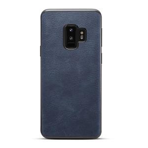 Husa Samsung S9 plus, piele, vintage, albastru, gd629 - imagine 1