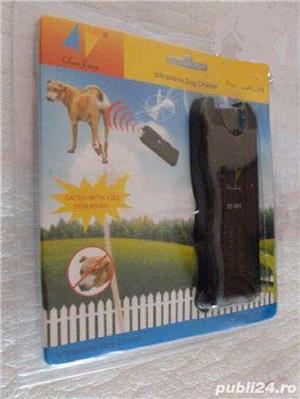 dispozitiv cu ultrasunete pt alungarea cainilor agresivi,ramburs - imagine 4