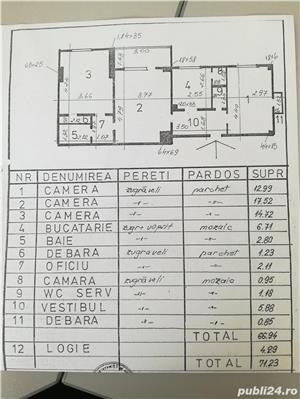 Apartament 3 camere Gara de Nord - Dinicu Golescu - imagine 9