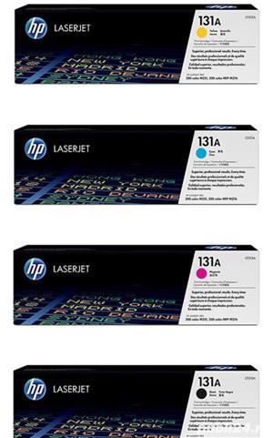 Cartuse color originale sigilate HP 131A pt Las Pro 200 MFP M276n/M251n - imagine 2