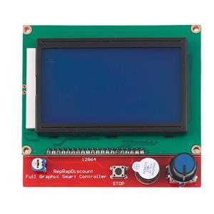 LCD grafic cu SD card ramps 1.4 imprimanta 3d - imagine 1