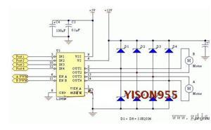 Dual H Bridge DC Stepper Motor Drive Controler Board L298N for Arduino - imagine 3