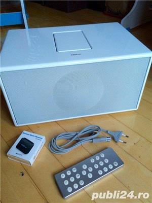 Boxa Geneva Sound System Model M+telecomanda+adaptor bluetooth,iPod,FM - imagine 1