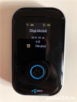 Modem router ZTE MF91D hot spot 4G Digi LTE WI-FI decodat orice retea - imagine 1