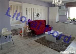 Intim, bloc nou, apartament 2 camere, modificat in 3 camere,mobilat,utilat,lux - imagine 1