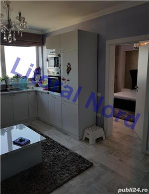 Intim, bloc nou, apartament 2 camere, modificat in 3 camere,mobilat,utilat,lux - imagine 7