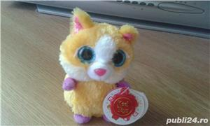 Pisica pufoasa originala keel toys simpatica noua - imagine 1