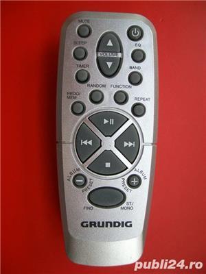 Telecomanda GRUNDIG,telecomenzi diverse modele radio,cd,linie,combina - imagine 5