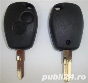 Chei cu telecomanda pentru Dacia Logan - imagine 2