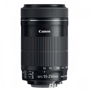 Obiectiv Canon 55-250 mm f4-5.6 IS STM   Parasolar cadou - imagine 2