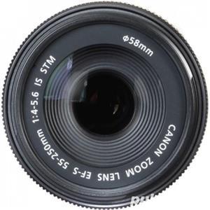 Obiectiv Canon 55-250 mm f4-5.6 IS STM   Parasolar cadou - imagine 5