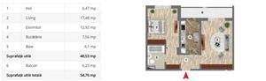 Aparatorii Patriei - Apartament 2 camere 55mp - 700m Metrou - imagine 6