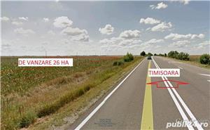 26 ha teren arabil Ortisoara - imagine 1