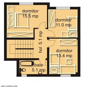 Casa 4 camere de vanzare, cart. Europa - imagine 10