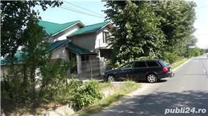 Gruiu,25 km de Bucuresti,vila P+1,5 camere,teren 400 mp - imagine 3