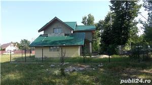 Gruiu,25 km de Bucuresti,vila P+1,5 camere,teren 400 mp - imagine 4