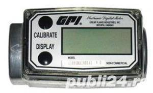 Contoar debiitmetru digital cisterna GPL sau apa lapte si LA POMPA MOTORINA  debitmetru 1.5 toli - imagine 4