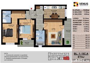 3 camere, Metalurgiei Park, Metrou Aparatorii Patriei la 13 minute - imagine 3
